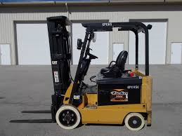 2011 cat ex5000 4 way forklift lift truck caterpillar tow motor