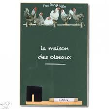 tableau noir cuisine tableau noir mural ardoise cuisine decor poules la maison des