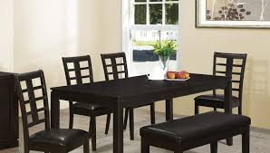 Dining Room Bench With Back by Bench Upholstered Dining Bench With Back Amazing Black Bench