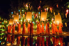 Festival Of Lights Thailand Thailand U0027s Yi Peng Festival Fills Sky With Light Hearts With