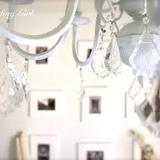 White Shabby Chic Chandelier by Shabby Chic Design Ideas