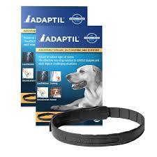 calming collar adaptil calming medium large dog collar 70cm petology com au