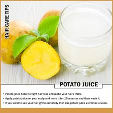 how to make hair strong how potato juice stops hair loss skin care tips