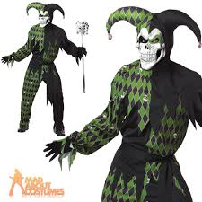 evil jester costume jokes on you mens medieval clown