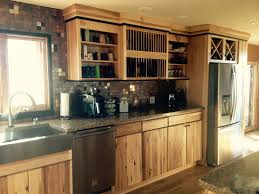 Rustic Hickory Kitchen Cabinets by Rustic Hickory Remodel U2013 Tanglewood Kitchen U0026 Bath