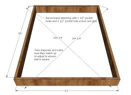 Building Platform Bed Home Simple Queen Bed Frame Inspiration How To Build A Size Frame