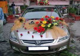 indian wedding car decoration make feel the moon with the outstanding wedding car