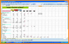 Excel Spreadsheet Template 5 Budget Excel Spreadsheet Template Business