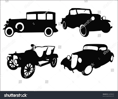 vintage cars clipart old cars vector stock vector 26459623 shutterstock