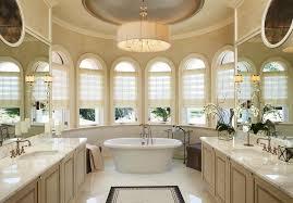 bathroom luxury master bathroom design with marble top cabinet