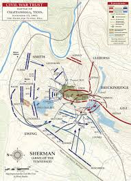 Map Of Chattanooga Tennessee by Chattanooga Civil War Trust