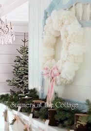 vintage pink glass christmas ornaments bottle brush tree