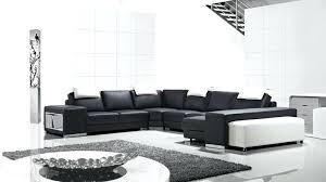 canap cuir noir et blanc canape noir et blanc design trendy with canape blanc cuir design