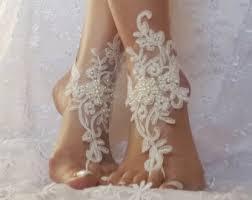 barefoot sandals for wedding wedding barefoot sandals etsy