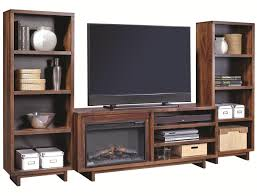 Fireplace Console Entertainment by Aspenhome Walnut Heights 65