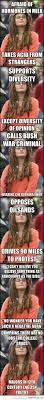 Hippie Woman Meme - the best of college liberal college hippie chick and humor