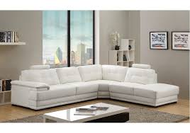 Leather Corner Sofa Veron White Leather Corner Sofa Right Hand My Major Is Showing