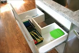kitchen sliding cabinet shelves cupboard drawers toe kick drawer