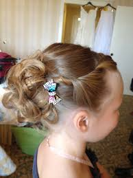 flower girl hair flower girl hairstyles twisted hair and updo zestymag