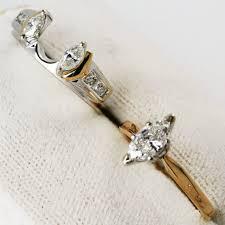 ebay wedding ring sets wedding rings marquise bridal set yellow gold ebay gold