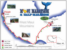Boston Marathon Route Map by Maui Marathon Half Marathon 10k U0026 5k Overview Marathon Tours