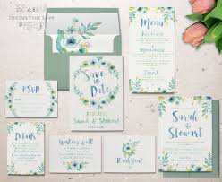 watercolor wedding invitations 24 watercolor wedding invitations the overwhelmed
