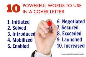 powerful resume action words