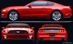 ford mustang dimensions 2015 ford mustang dimensions car autos gallery