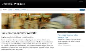 templates for professional website movabletype org documentation professional website