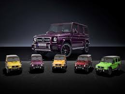 1 18 scaled mercedes benz g class models are just as exclusive as