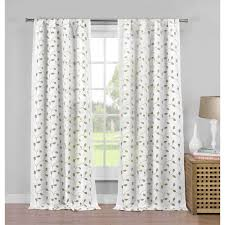 Cambria Wood Curtain Rods Curtain White Wood Curtain Rod Panel Curtain Rod