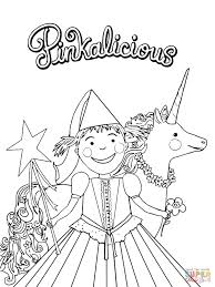 pinkalicious coloring pages free eson me