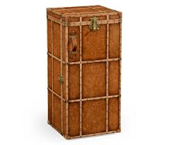 beautiful travel trunks jonathan charles travel trunk style wine and cocktail cabinet
