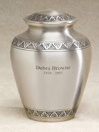 memorial urns 23 best metal cremation urns images on cremation urns