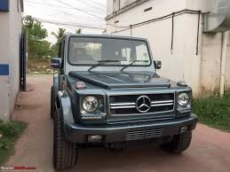 modified gypsy in kerala force gurkha modified to look like a mercedes benz