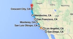map of oregon lighthouses crashing waves and expansive views dramatic california
