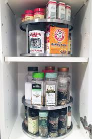 kitchen spice cabinet spin doctor a new twist to organizing your cabinets cary prince