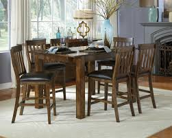 City Furniture Dining Room Sets Gathering Leg Table With Two Leaves By Aamerica Wolf And