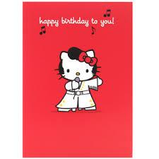 birthday cards hello kitty happy birthday cards polyvore