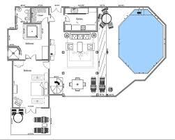 in suite floor plans penthouse suite