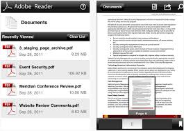 adobe reader android apk simple pdf reader apk udine network