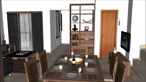 google sketchup animation abdul bari residential interior design