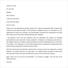 sle internship thank you letter 9 free documents in pdf word