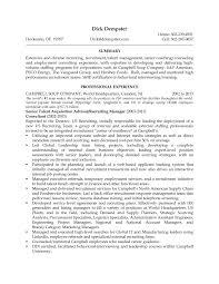 recruitment consultant resume recruitment curriculum vitae