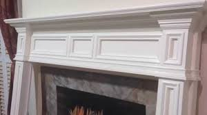 the fontana mantel mission style fireplace mantel youtube