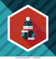 eye mask flat icon long shadow stock illustration 271808600