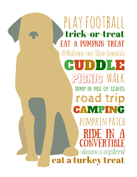 dog bucket list for fall a free printable pinnaclehealthypets