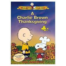 brown thanksgiving dvd peanuts on snoopy and the
