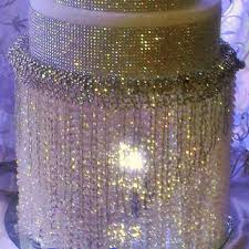 Acrylic Chandelier Beads by Wedding Cake Stand With Crystals From Fashion Proposals