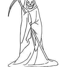 skeleton u0027s halloween celebration coloring pages hellokids